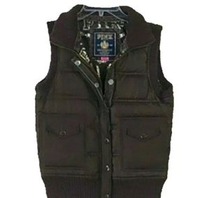 Victoria's Secret PINK Women's Down Puffer Vest